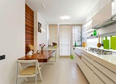 Green color for a perfect kitchen