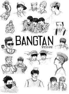 Kpop fanart BTS