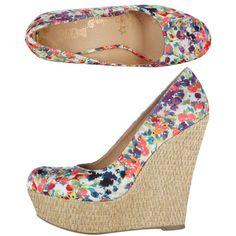 fc6058b32377 Womens BrashWomen s Lunar Platform Wedge Stylish Shoes For Women