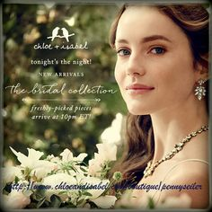 Soon to be Brides Visit my boutique for some gorgeous new jewelry at http://www.chloeandisabel.com/boutique/pennyseiler