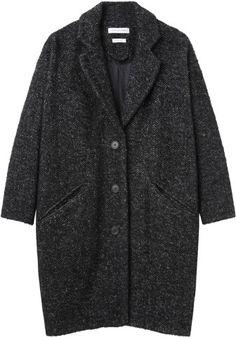Étoile Isabel Marant Delphe Herringbone Coat