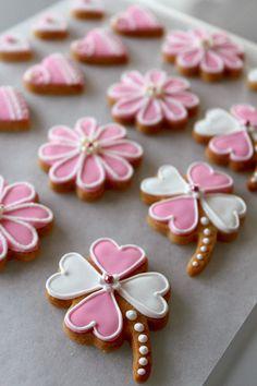 アイシングクッキー - お菓子時々パン日記.....Google Translate page....nice decorating ideas