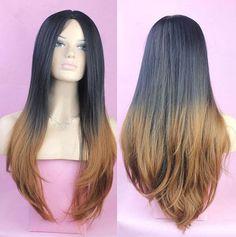 Fashion Women's Lady Long Curly Wavy Hair Full Wig by SyonLight