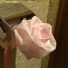 【動画あり】トイレットペーパーの折り紙の折り方・バラ・りぼん・クローバー・ハート | のらりくらり