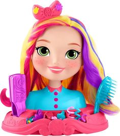 Check out the Nickelodeon Sunny Day Sunny Styling Head at the official Fisher-Price website. Explore the world of Sunny Day today! Little Girl Toys, Baby Girl Toys, Toys For Girls, Little Girls, Baby Boy, Barbie Hair, Barbie Dolls, Barbie Shop, Cute Headbands