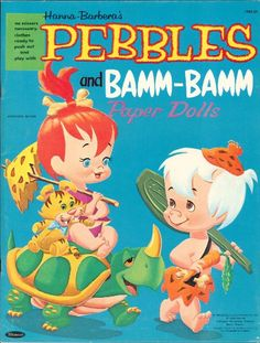 Pebbles and Bamm Bamm paper dolls printables