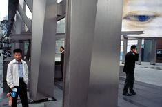 Alex Webb - Seoul. 2007. Samsung Building.