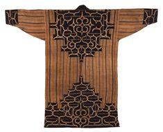 厚司(アイヌ)芹沢銈介の収集品 Textile Patterns, Textile Design, Textile Art, Textiles, Ainu People, Native Design, Japan Image, Nihon, Japanese Kimono