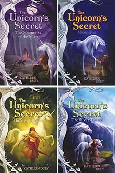 A magical adventure series about a young orphan who adopts a stray horse only to find out it is actually a unicorn. Welcome your child into the world of reading with these engaging books! (These books also make great read-alouds for younger children.)