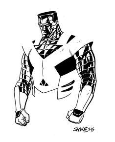 Colossus by Chris Samnee #XMen #Mutants
