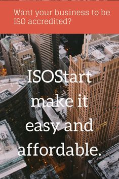 ISOStart deliver a colour coded integrated ISO Management System template for 9001, 14001 & 18001 Plus loads of extras to get your business started.  Implement the system into your business over three months and call in the assessors.  This will save you thousands! We can even recommend an auditing company in the UK.