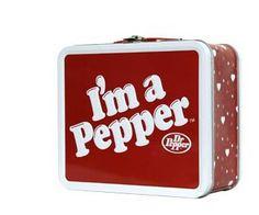 I'm a Pepper Dr Pepper Soda Metal Lunchbox Lunch Box Vintage Lunch Boxes, Cool Lunch Boxes, Metal Lunch Box, Tabasco Pepper, Dr Pepper, Lunch Box Thermos, Adult Lunch Box, Soda Brands, School Lunch Box