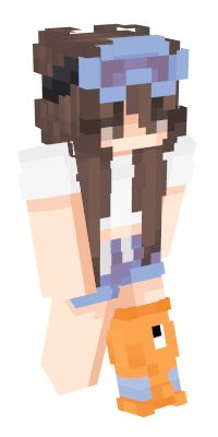 Check out our list of the best Girl Minecraft skins. Minecraft House Plans, Minecraft Blueprints, Minecraft Mods, Minecraft Houses, Minecraft Anime, Minecraft Skins Cute, Minecraft Skins Aesthetic, Xbox One 360, Skin Mine