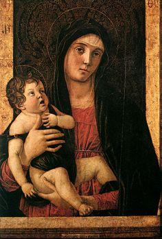 Giovanni Bellini ~ Madonna with Child, c.1475
