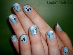 Quidditch nails? maybe a bit much...