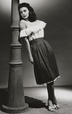 "Ava Gardner in ""Whistle Stop"" (1946) Director: Léonide Moguy"