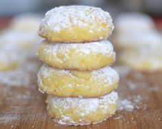 Lemon Gooey Butter Cookies! I wonder if you could add lemon zest to bump up the lemon flavor?