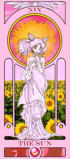 """Predict Your Future With These Fan-Made """"Sailor Moon"""" Tarot Cards"""