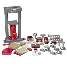 The new Bonny Doon Starter Kits have everything a jeweler needs to start hydraulic forming, right outta the box! Jewelry Tools, Jewelry Supplies, Wire Jewelry, Art Supplies, Jewelry Making, Printmaking Supplies, Hydraulic Ram, Metal Forming, Homemade Tools