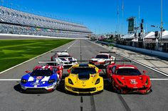 Four Ford GTs from the Chip Ganassi Racing stable will start the 2017 Daytona 24 Hours.. As favourites for the GTLM win, the team wants to recreate history and emulate the success of the original Ford GT, which contested at Daytona back in the 1960s. The Ford's will face stiff competition from Ferrari 488 GTEs, Chevrolet Corvettes, Porsche 911 RSRs and BMW M6 GTLMs.