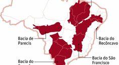mapa brasil bacias