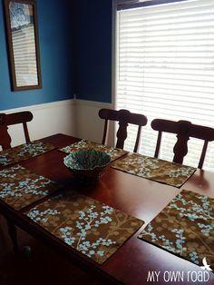 homemade place mats