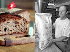 Rund fünfmal so teuer wie herkömmliche Ware ist das Schweizer Ruchmehl, das Helmut Russ für das Walliser Landbrot verwendet. Bäckerei Ruß in Guldental an der Nahe. #MoToLogie #Brot #Brotkultur