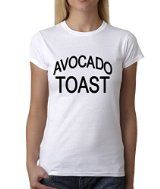 Expression Tees Avocado Toast Womens T-shirt