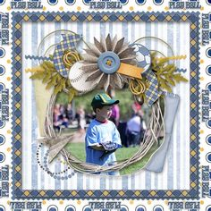 Kathryn Estry Creative Team Layout with LIttle Boy Blue Digital Scrapbooking Collection @ PickleberryPop https://www.pickleberrypop.com/shop/product.php?productid=48301&page=1