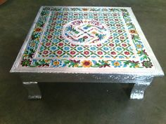 Indian table for god's worship