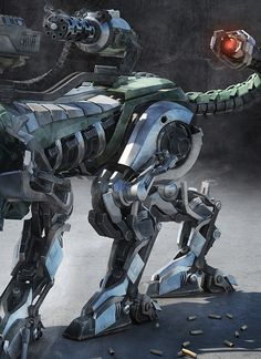 Rise of the Machines by Nick Kaloterakis, via Behance
