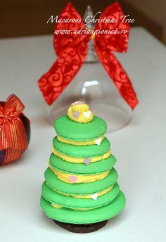Macarons Christmas Tree