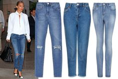 ELLE - Spring Must Haves: 10 Things for Every Wardrobe The High-Waisted Jean