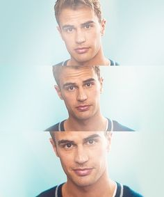 Theo James..... His name says it all