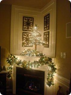 corner mantelpiece decoration ideas - google search | fireplace