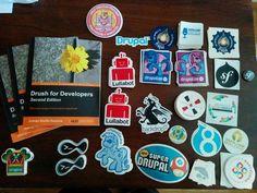 Drupal stickers