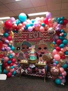 LOL Surprise Dolls Birthday Party Barbie Birthday, Unicorn Birthday Parties, Birthday Party Decorations, 3rd Birthday, Party Themes, Surprise Birthday, Party Ideas, Birthday Ideas, Selena Quintanilla Birthday