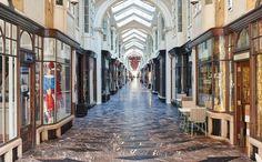 The Burlington Arcade... spot a dandizette or dandy?