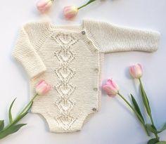 Crochet Patterns Onesie Ravelry: Snowdrop Wrap Onesie pattern by Anne Dresow