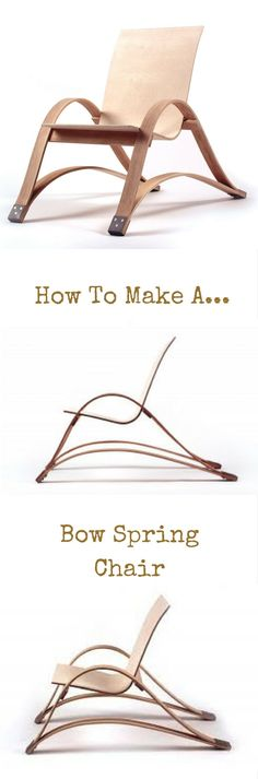 How To Make a Bow Spring Chair http://vid.staged.com/2pdt?utm_content=bufferebbd0&utm_medium=social&utm_source=pinterest.com&utm_campaign=buffer Connor Coghlan Design