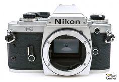 Nikon FG 35mm Film SLR camera body Silver - Ideal for students 8863651