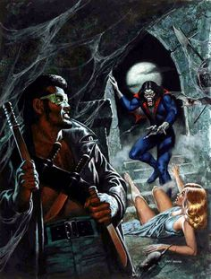 Blade vs Morbius by Ken Barr