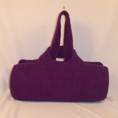 Felted Handbag by Rotomoto on Etsy