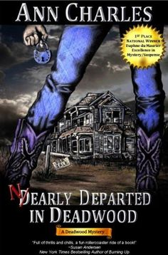 Nearly Departed in Deadwood (Deadwood Mystery Series #1) by Ann Charles, http://www.amazon.com/dp/B004JF4MME/ref=cm_sw_r_pi_dp_HPOXpb0R8X4KW