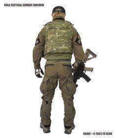 volk tactical apparel | VOLK TACTICAL COMBAT UNIFORM / KHAKI ¥ 34.650 -(税込)