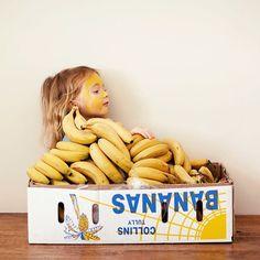 yellow banana kid
