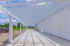 The Farmhouse Wedding Venue Wrap-Around Porch Construction Progress