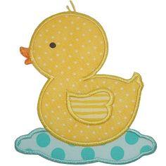 Rubber Ducky Applique
