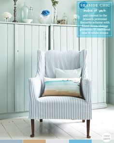 Colour Palette: Seaside Chic – Bright.....Slipcover!!