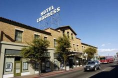Cozy retro rooms, a great bar, ghosts and gangsters are all part of what makes Hotel Congress in Tucson a fun place to stay.